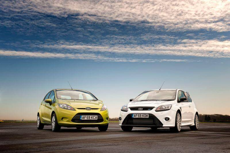 Ford, Vauxhall, and Volkswagen were the best-selling cars by manufacturers or marque in Great Britain in 2009. The Fiesta replaced the Focus as Britain's favorite car.  © 2009 Ford Motor Company & Wieck Media Services