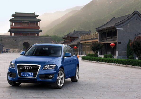 Audis are selling well in China