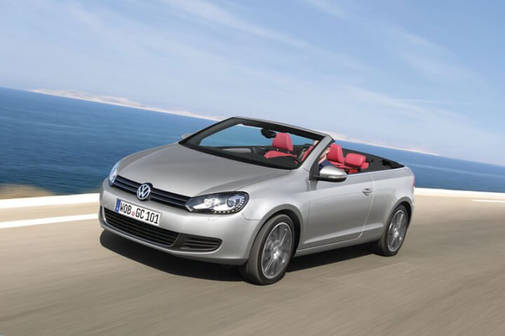 In 2008, the VW Golf led the list of the ten best-selling car models in Europe.
