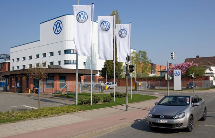 VW factory in Osnabruck