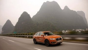 2011 (Full Year) German Car Sales in China and Asia