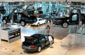Volkswagen Phaeton Factory in Dresden, Germany