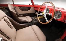 Driver's seat of the 1952 Ferrari 340 Mexico