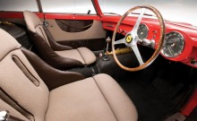 Driver's seat of the 1952 Ferrari 340 Mexico