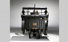 Rear View of a 1884 De Dion Bouton et Trepardoux Dos-a-Dos Steam Runabout