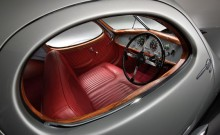 Interior of the 1938 Talbot-Lago T150C SS