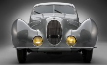 Front view of the 1938 Talbot-Lago T150C SS
