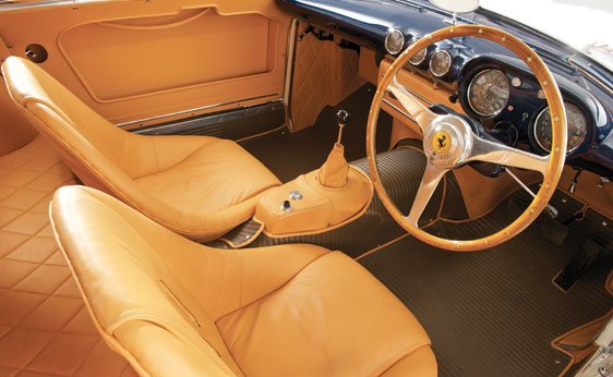 Right Hand Drive 1955 Ferrari 375 MM