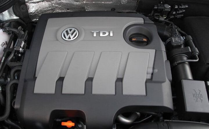 Volkswagen Beetle Diesel Engine