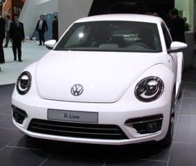 VW Beetle at the Geneva Auto Salon 2012