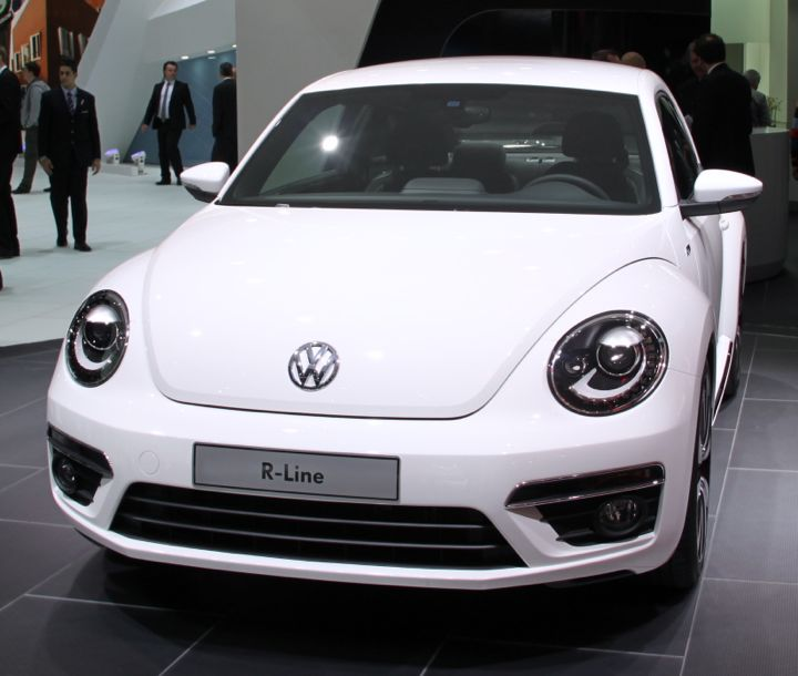 VW Beetle at the Geneva Auto Salon 2012