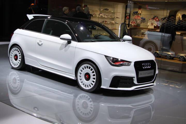Audi A1 Quattro at the Geneva Auto Show 2012
