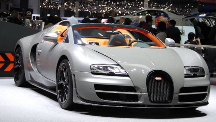 Bugatti at the Geneva Auto Salon