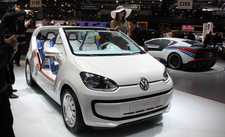 VW Up! Study at the Geneva Auto Salon in 2012