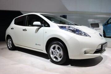 2012 (Half Year) Best-Selling Electric Car Models in Sweden