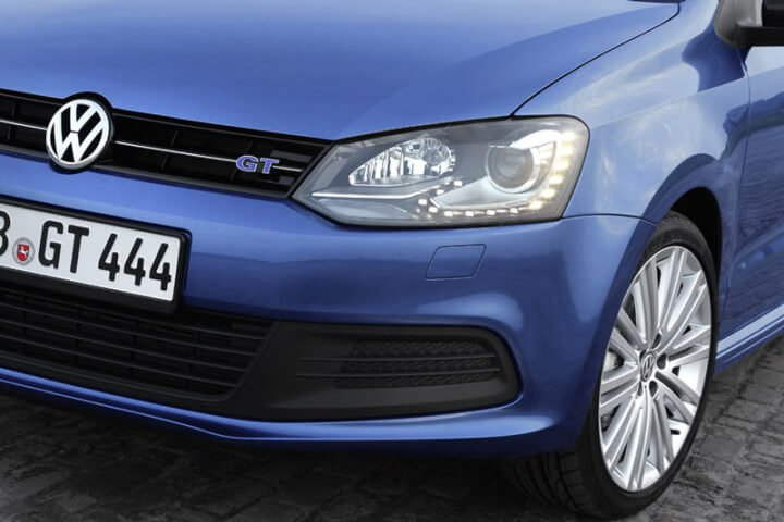 VW Polo Front View