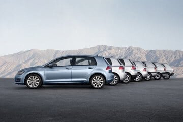 VW Golf Series 1 to 7