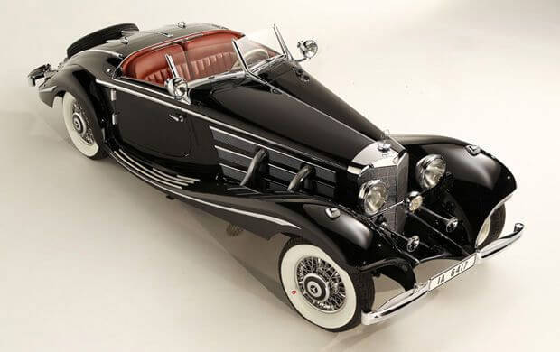 1936 Mercedes-Benz 540 K Special Roadster 3/4 Front View