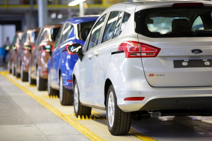 Ford B Max Production Line