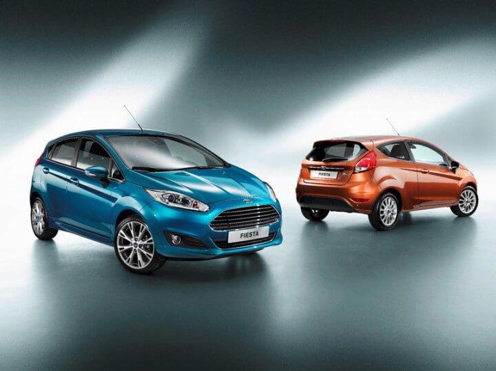Ford Fiestas at the Paris Motorshow