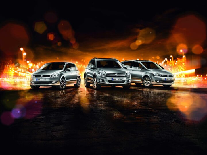 Volkswagen Polo, Golf Plus and Tiguan LIFE models