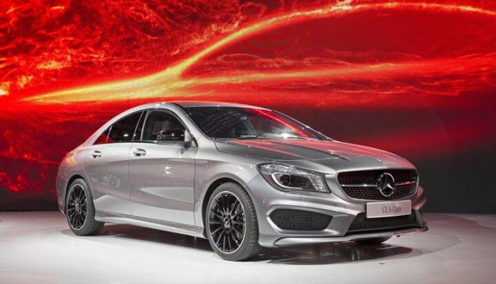 Mercedes CLA at the 2013 Detroit Car Show
