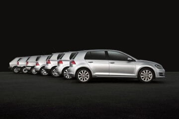 VW Golfs - all series 1 to 7