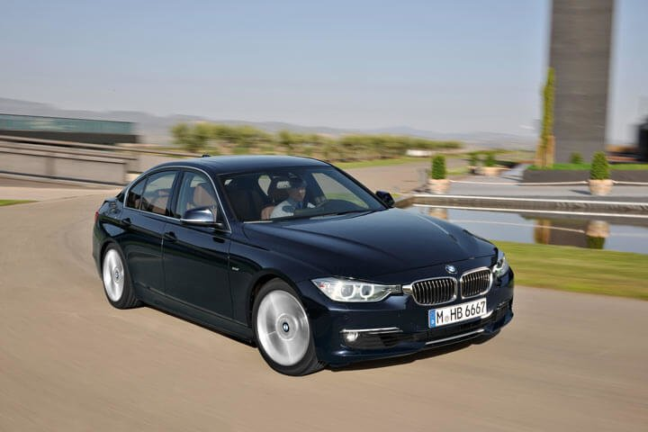 Black BMW 3 Series