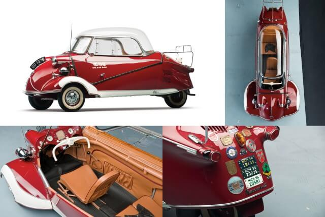Sold Messerschmitt Kr200 3 Wheeler Microcar Auctions: Top Auction Prices For Mini And Microcars