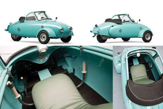 1957 Juirsch Motoplan Prototype microcar