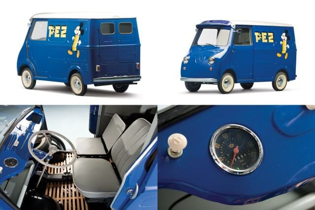 1958 Goggomobil TL400 Transporter PEZ