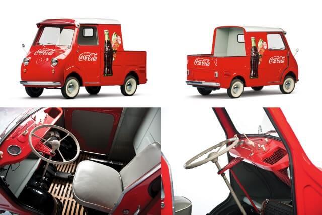 1959 Goggomobil TL-400 Transporter Coca Cola