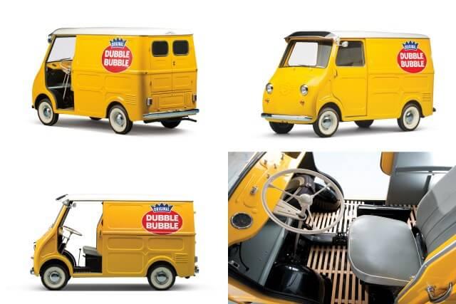 "1963 Goggomobil TL-250 Transporter ""Dubble Bubble"""