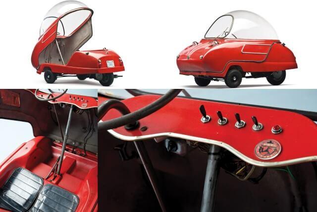 1966 Peel Trident Car