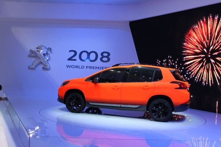Peugeot 2008 at 2013 Geneva Auto Salon