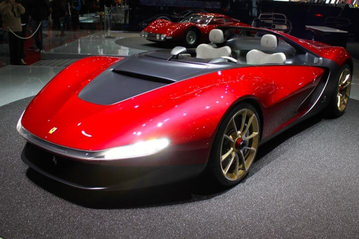 Pininfarina Sergio at the 2013 Geneva Auto Show