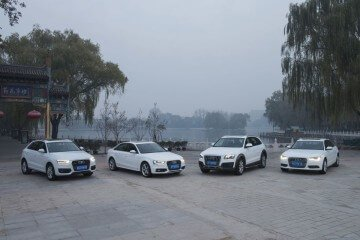 Audi Cars in China: