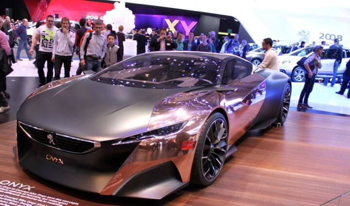 Peugeot Onyx Show Car at 2013 Geneva Auto Salon