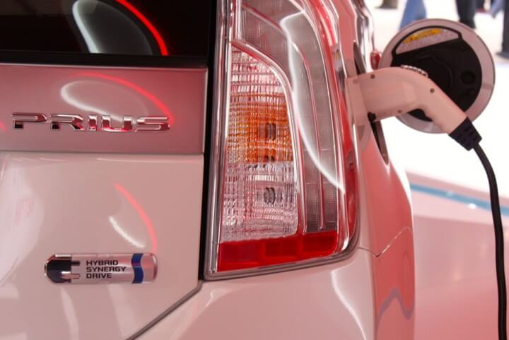Toyota Prius Plug-in at the 2013 Geneva Auto Salon