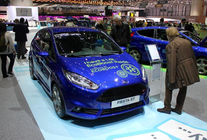 Ford Fiesta ST at the 2013 Geneva Auto Salon