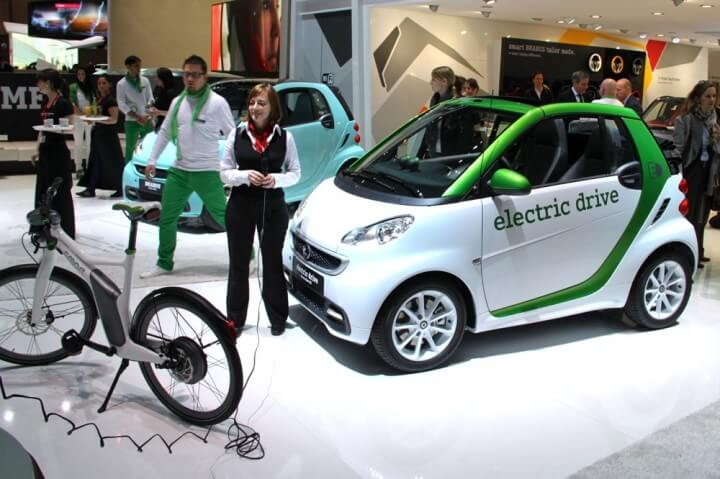 Smart Fortwo Electric Drive & Bike