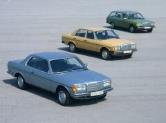 Mercdes W123 Car Range
