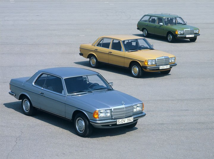 Mercdes W123 Car Range