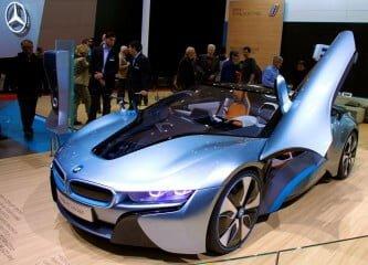 BMW i8 at Geneva Auto Salon 2013