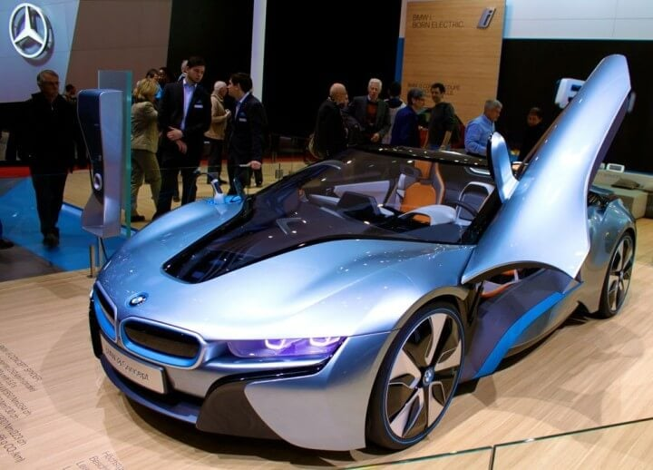 BMW i8 at Geneva Auto Salon 2013