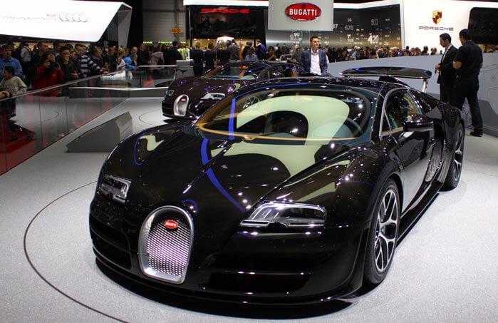 Bugatti Veyeron at the Geneva Auto Show 2013