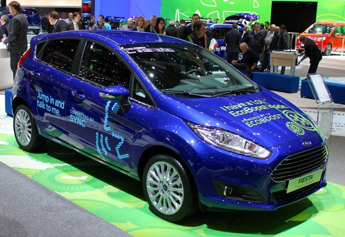 Ford Fiesta at the Auto Salon Geneve 2013