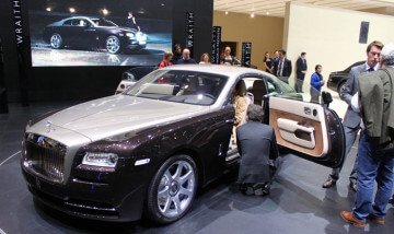 Rolls Royce Wraith at the Geneva Auto Show 2013