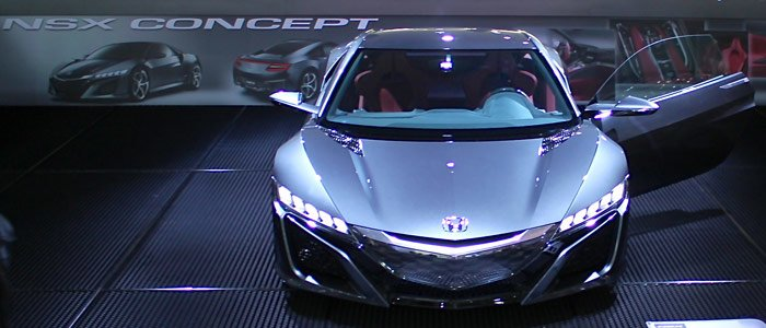 Honda NSX Concept at the Auto Salon in Geneva in 2013