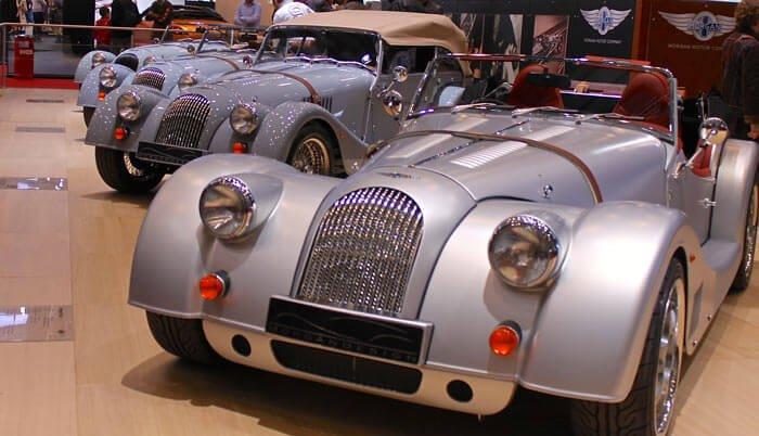 Morgan Cars at Geneva Auto Show 2013